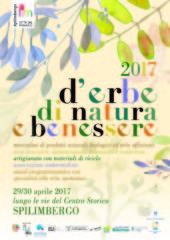 Locandina erbe natura benessere 2017